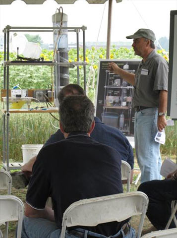 Innovative Dry Digester for Manure presented at Maine Farm Days