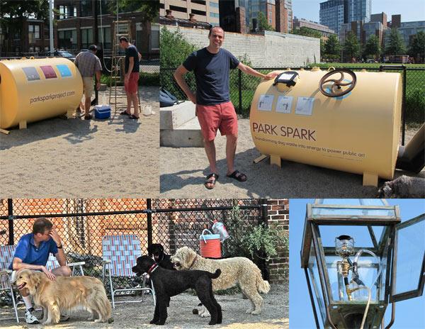 "Dog Waste Makes ""Park Spark"" – in Boston"
